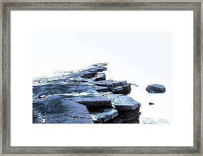 Kimmeridge Bay - England Framed Print