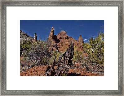 Kodachrome Basin Framed Print