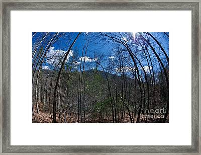 Lake Lure Framed Print