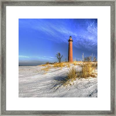 Little Sable Lighthouse Framed Print
