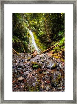 Madison Falls Framed Print by Twenty Two North Photography