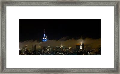 Nyc Buildings Framed Print by Patrick  Flynn