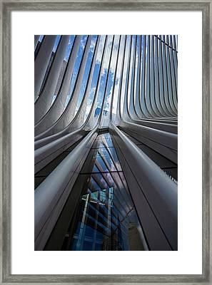 Oculus Center Nyc Framed Print by Robert Ullmann