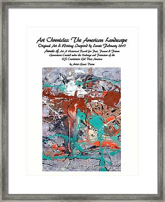 #out Of The #fog #landscape #art #chronicle Of The #american #experience #beautiful #mountains       Framed Print by Grace Divine