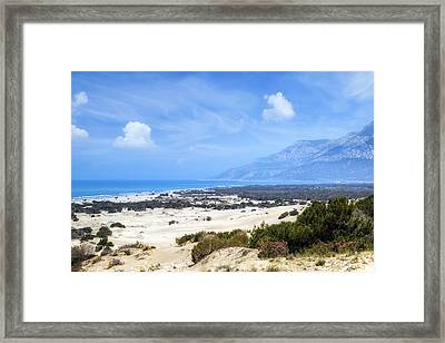 Patara Beach - Turkey Framed Print