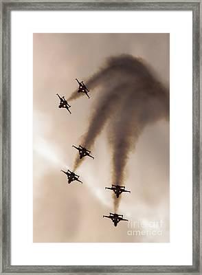 Patrouille Suisse Framed Print
