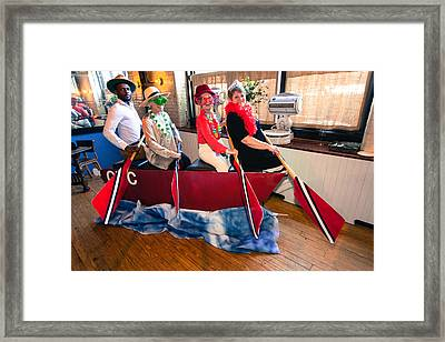 Photo Fun Framed Print