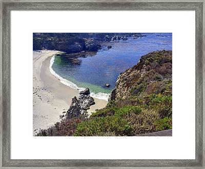 Point Lobos Beach Framed Print