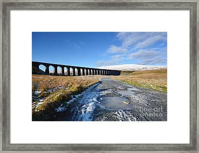Ribblehead Viaduct Framed Print by Nichola Denny