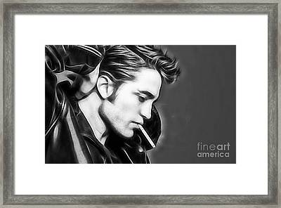 Robert Pattinson Collection Framed Print