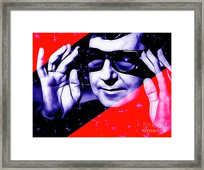 Roy Orbison Collection Framed Print by Marvin Blaine