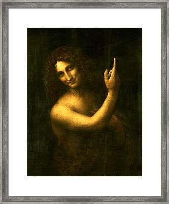 Saint John The Baptist Framed Print