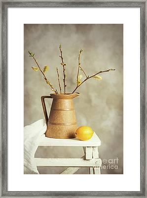 Spring Still Life Framed Print by Amanda Elwell