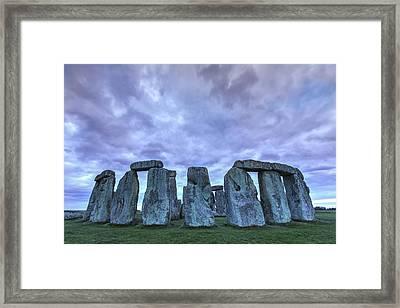 Stonehenge - England Framed Print