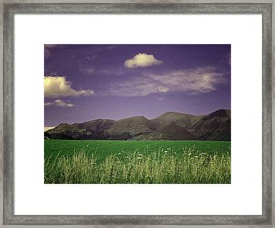 The Lake District Framed Print by Martin Newman