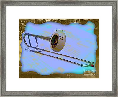 Trombone Collection Framed Print