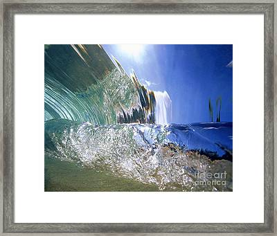 Underwater Wave Framed Print by Vince Cavataio - Printscapes
