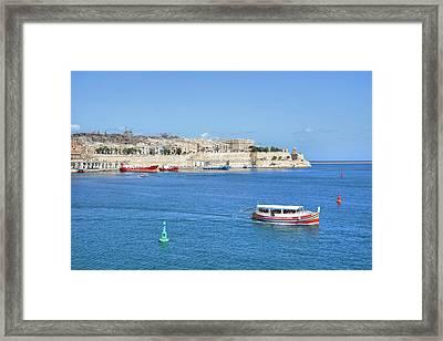 Valletta - Malta Framed Print