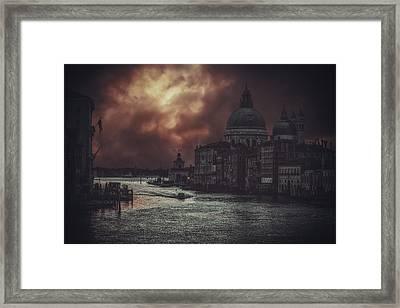 Venice Framed Print by Traven Milovich