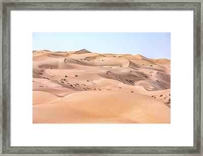 Wahiba Sands - Oman Framed Print