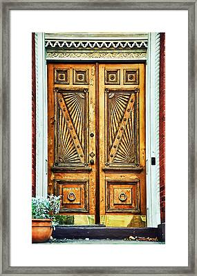 Worldly Carved Passage  Framed Print by JAMART Photography