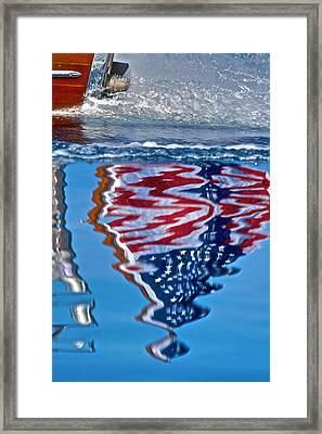 Thunderbird Ensign Framed Print by Steven Lapkin