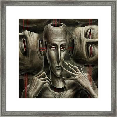 80 Framed Print by Farzad Golpayegani