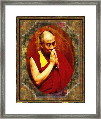 80 Years Of Contemplation Framed Print