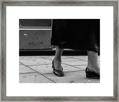 Unladen Weight Framed Print