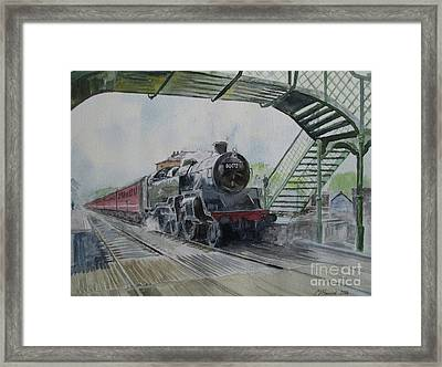 80072 At North Weald Framed Print by Martin Howard