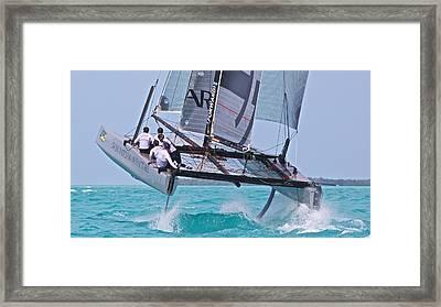 Key West Race Week Framed Print by Steven Lapkin
