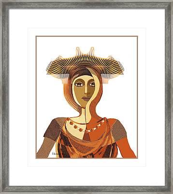 821 - Byzantine 2017 Framed Print