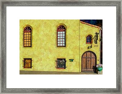 830 At 240 Framed Print by Paul Wear