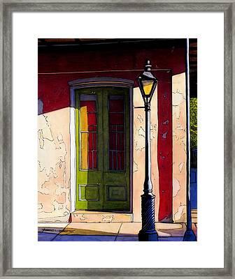 84 Framed Print by John Boles