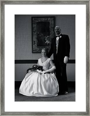 85 Framed Print