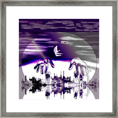 855 -   Global Player   Framed Print