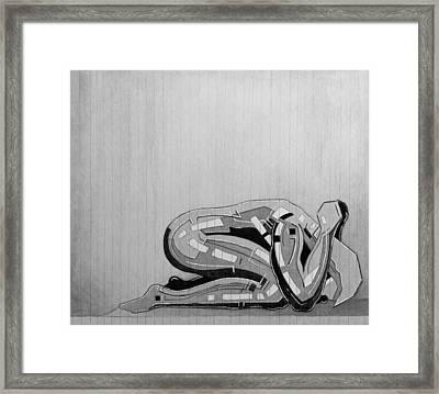 87 - 12 Detail Framed Print