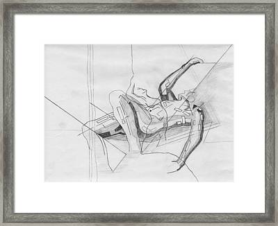 87 - 13 Detail Framed Print