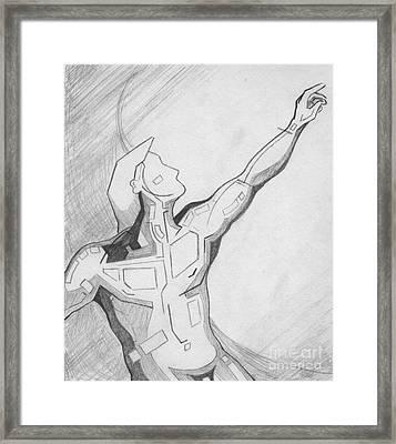 87 - 2 Detail Framed Print