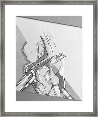 87 - 9 Detail Framed Print