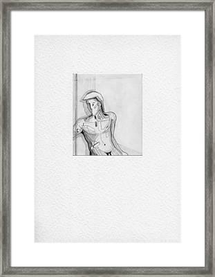 87_1 Framed Print