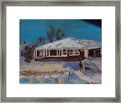 89 Grove St - The  Beehive Framed Print