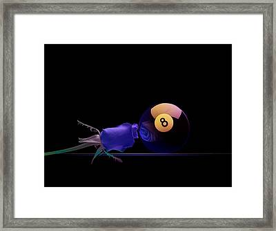 8blues Framed Print by Draw Shots