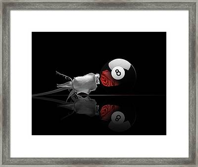 8BW Framed Print by Draw Shots