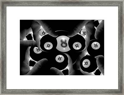 8hands Framed Print by Draw Shots