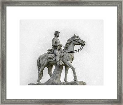 8th Pennsylvania Cavalry Gettysburg Framed Print by Randy Steele