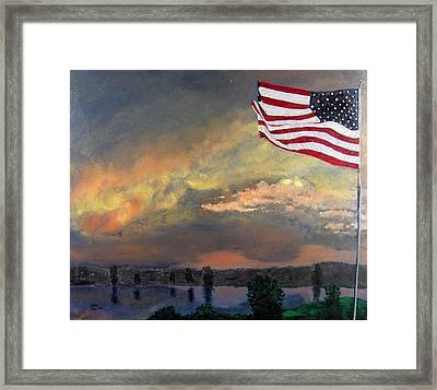 9 11 2001 Framed Print by Stan Hamilton
