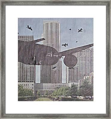 9-11-7 Framed Print by William Douglas