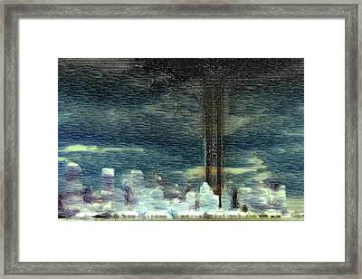9 11 Memorial Framed Print by Andrea Barbieri