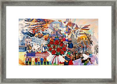9/11 Memorial Framed Print by Bonnie Siracusa